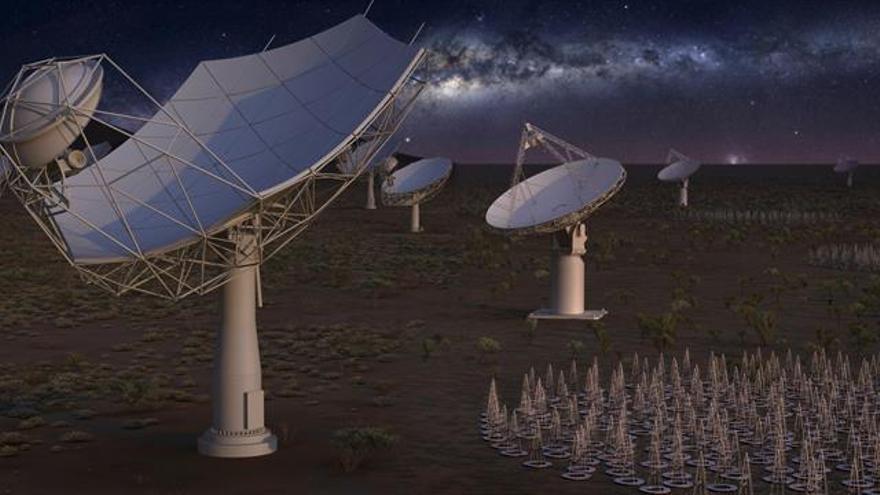 SKA, un radiotelescopio muy terrícola para escudriñar el origen del universo