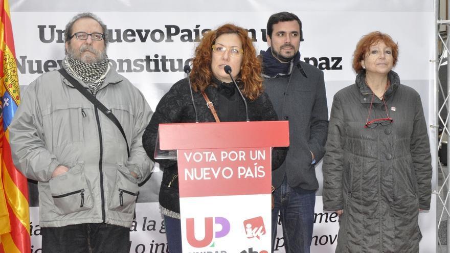 """Garzón (UP) apuesta por salir de la OTAN y abandonar la """"doctrina de Bush y Hollande"""""""