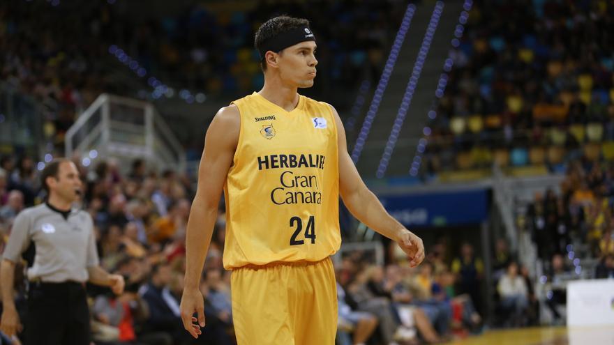 Imágenes del partido disputado entre el Herbalife Gran Canaria y el Valencia Basket. (Alejandro Ramos).
