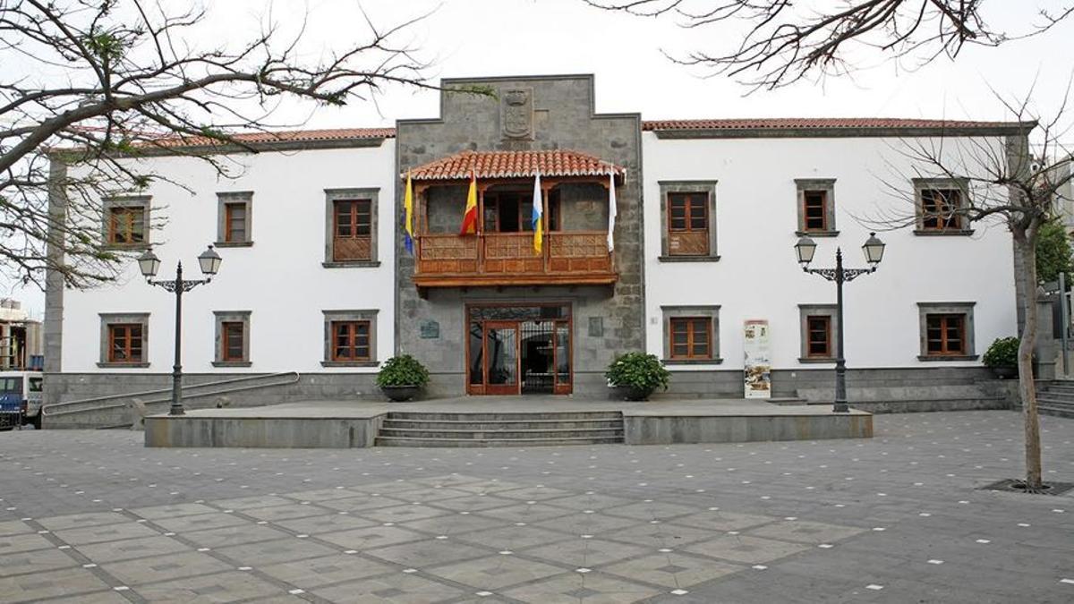 El Ayuntamiento de San Bartolomé de Tirajana