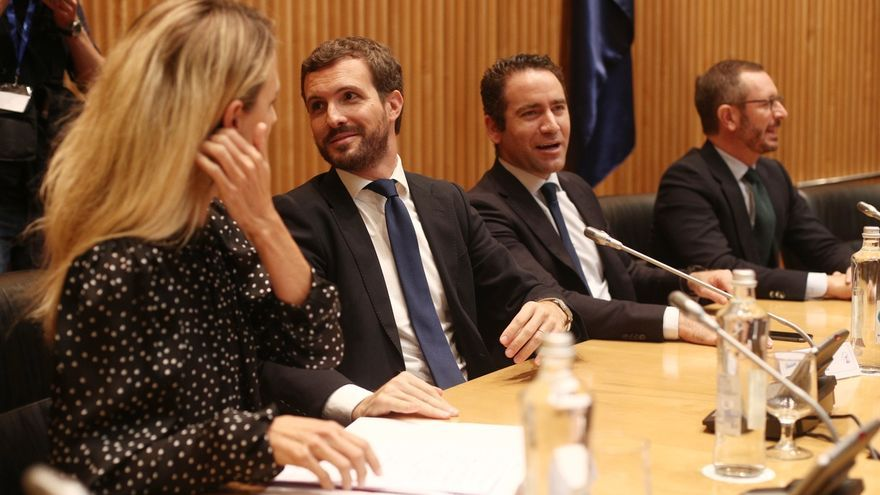 Casado apela a la coalición España Suma porque podría lograr mayoría absoluta en las urnas