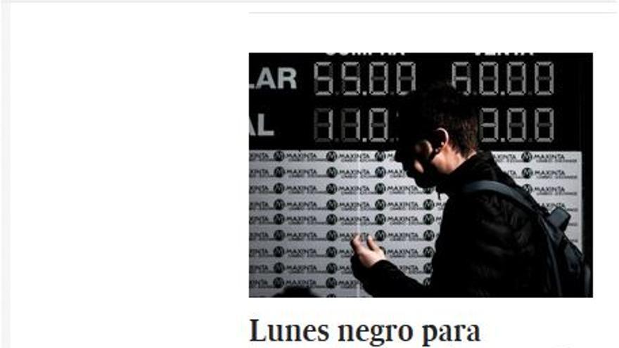LUNES NEGRO ARGENTINA