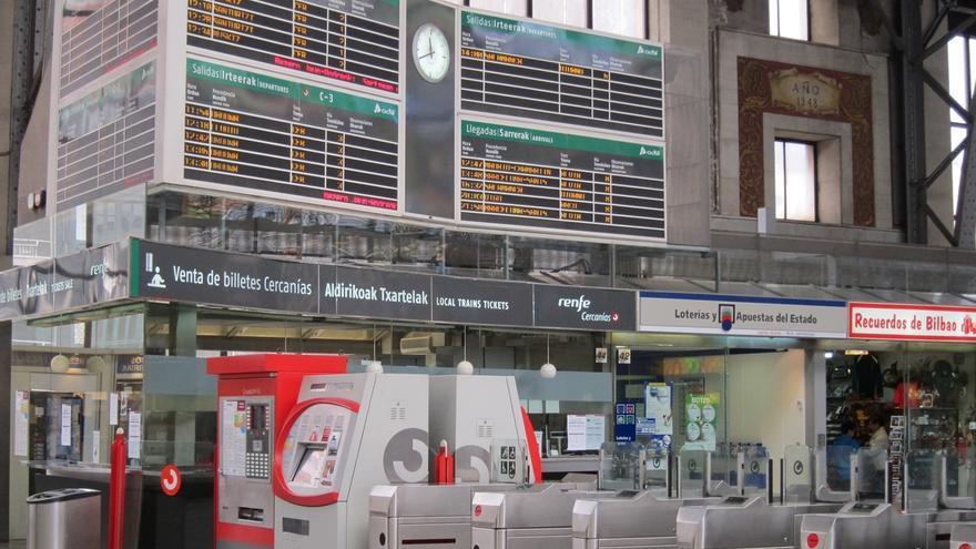 Renfe Cercanías ofrecerá más de 500 trenes especiales de madrugada para la Aste Nagusia de Bilbao