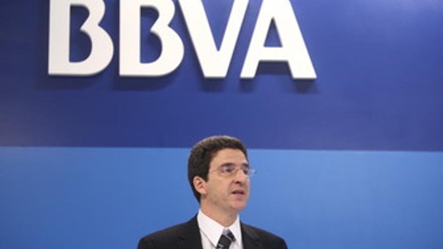 Director del servicio de estudios de BBVA, Jorge Sicilia, presenta el documento
