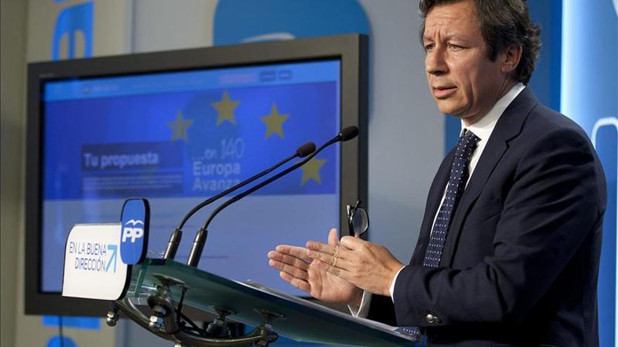 """Floriano se siente """"muy cómodo"""" en campaña electoral aún sin candidato"""