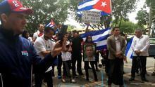 """Cubanos representan en Miami una """"audiencia real"""" española con disidentes"""
