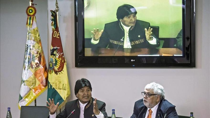 Evo Morales viaja a Austria para asistir a reunión de países sin litoral