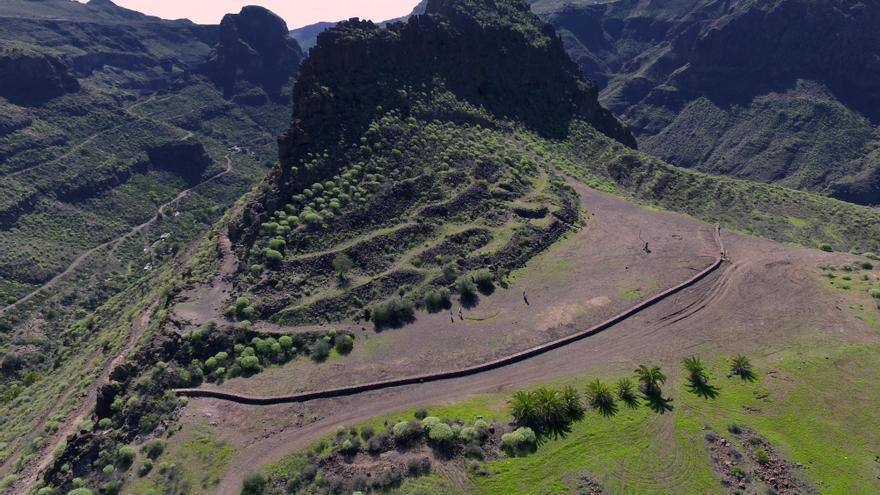 La Fortaleza, el yacimiento aborigen más completo de Gran Canaria