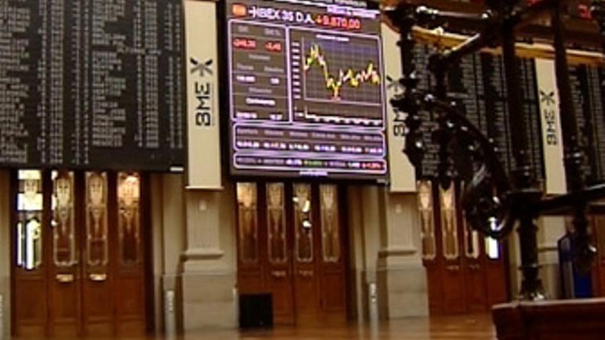 El Ibex 35 cede un 0,55%