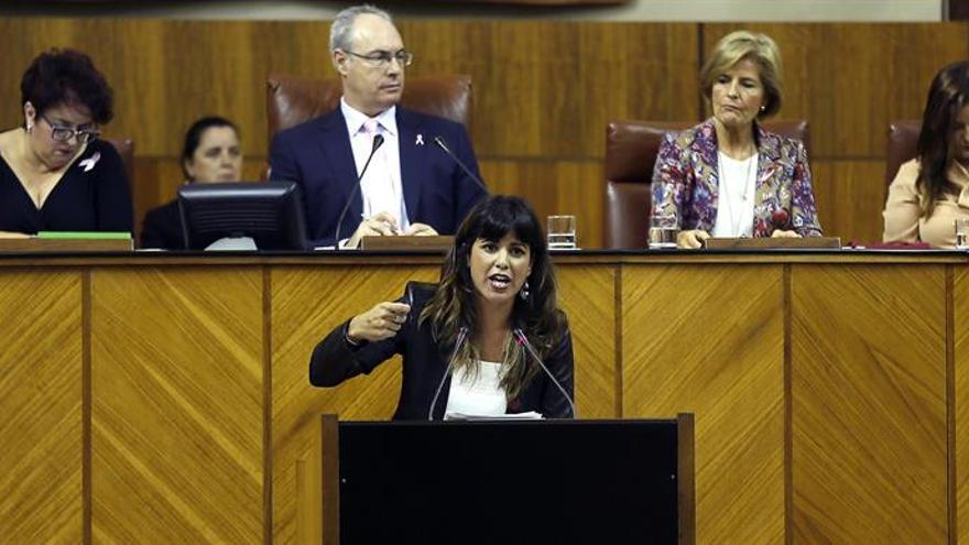 """Teresa Rodríguez apunta a """"injerencias"""" en Podemos en el caso de Espinar"""
