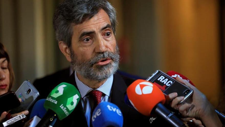 "Lesmes elogia la ""grandeza"" del juez Ramírez que ""cambió la historia"" de España"