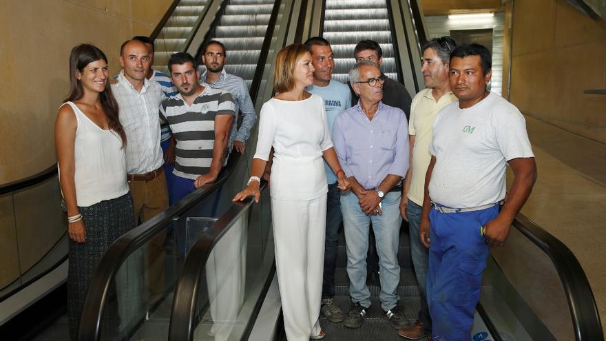 Cospedal inaugura el remonte de Safont, Toledo. Foto oficial