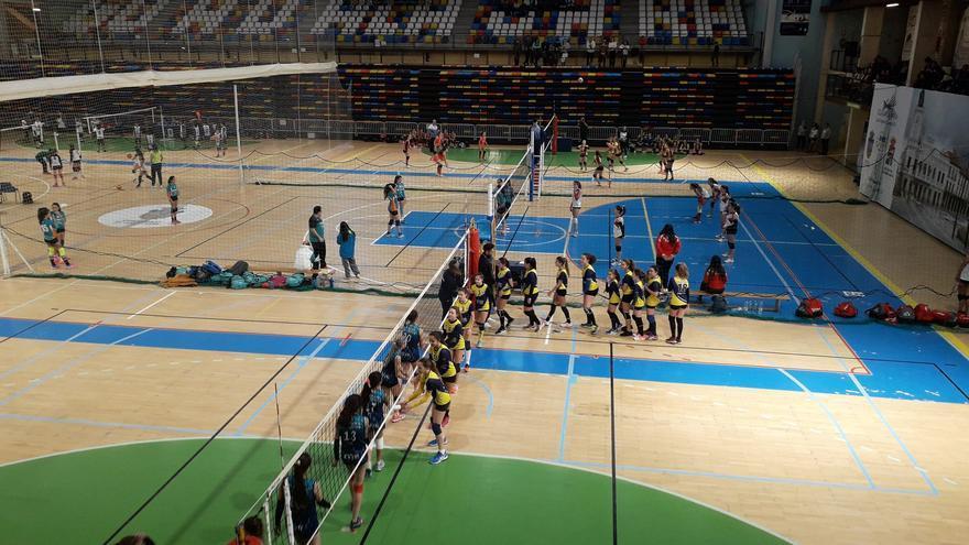 Copa de España de Voleibol celebrada en Guadalajara
