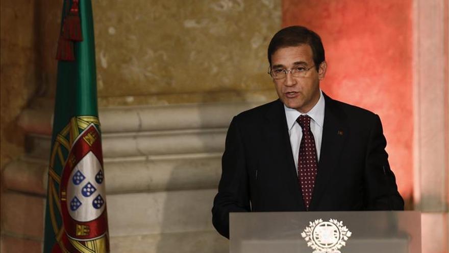 """Passos Coelho: """"Tenemos legitimidad sustancial y no meramente formal"""""""