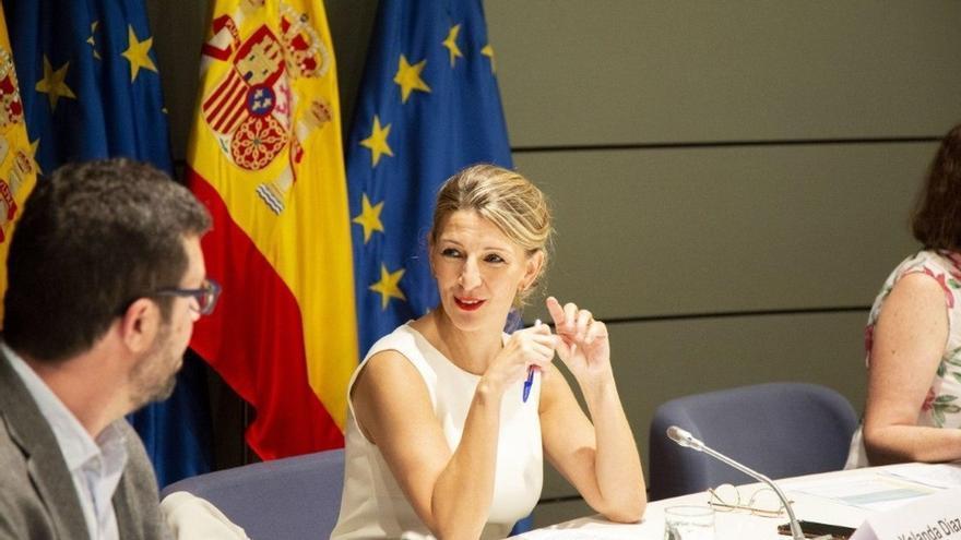 """Yolanda Díaz designa a Toledo capital europea de Economía Social, """"ciudad de las Tres Culturas y ejemplo de tolerancia"""""""