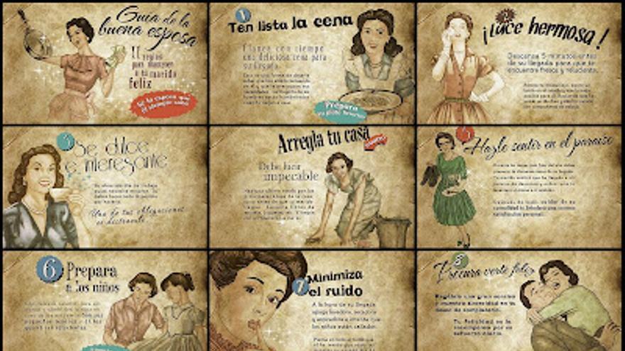 'Guía de la buena esposa', de 1953.