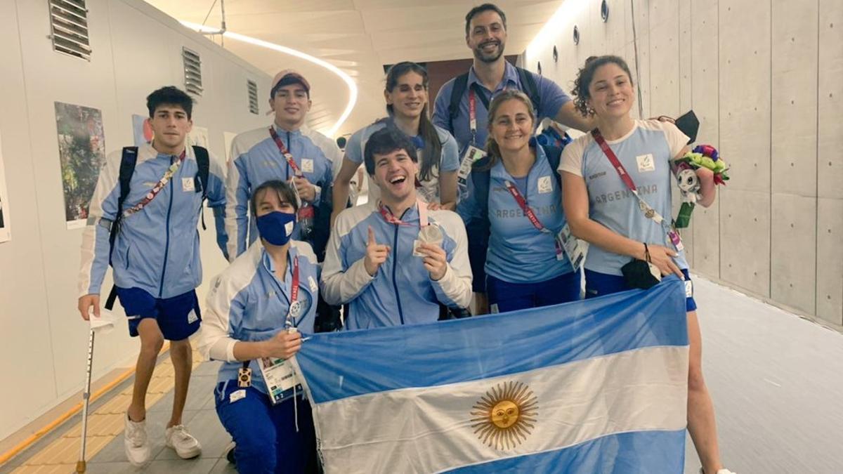 Matías De Andrade se quedó este viernes con la medalla de plata en la prueba de los 100 metros espalda S6 de los Juegos Paralímpicos de Tokio.
