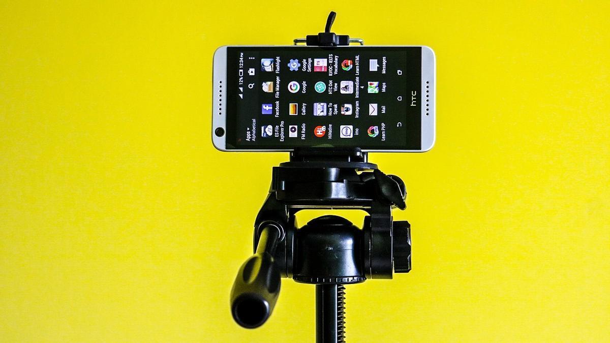 Mejores trípodes para el móvil.