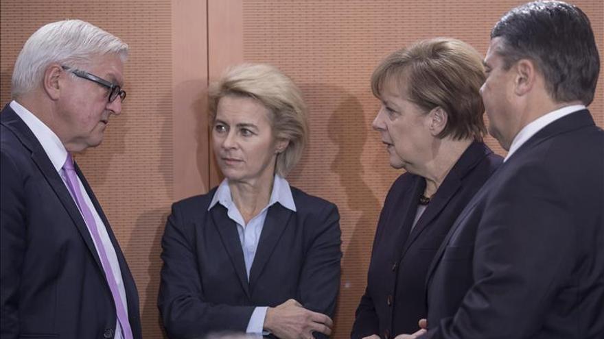 El Gobierno alemán aprueba la misión de apoyo a Francia en la lucha contra el EI