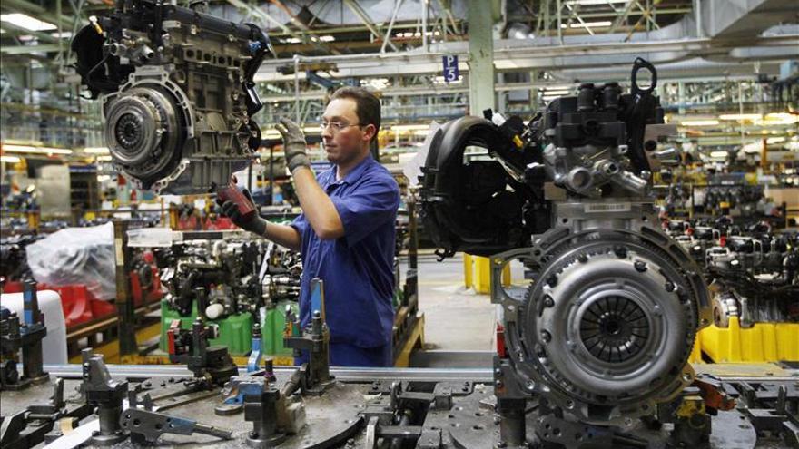 La economía española cayó el 1,3 por ciento en 2012, según el Banco de España