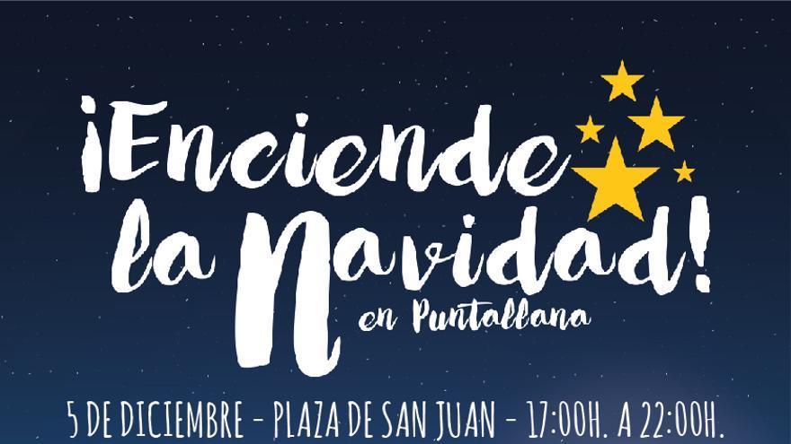 Cartel de Navidad de Puntallana.