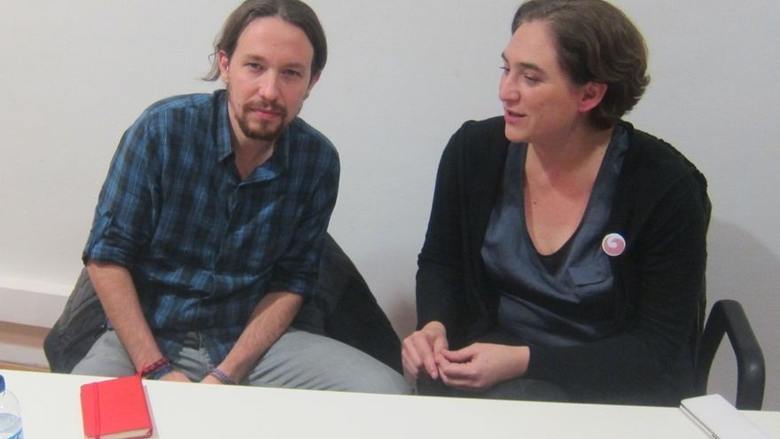 Iglesias y Colau se estrenarán en las jornadas del Círculo de Economía en Sitges