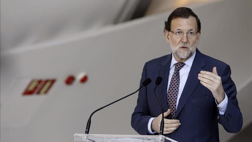 Rajoy suspende un acto en Vitoria con motivo del accidente aéreo