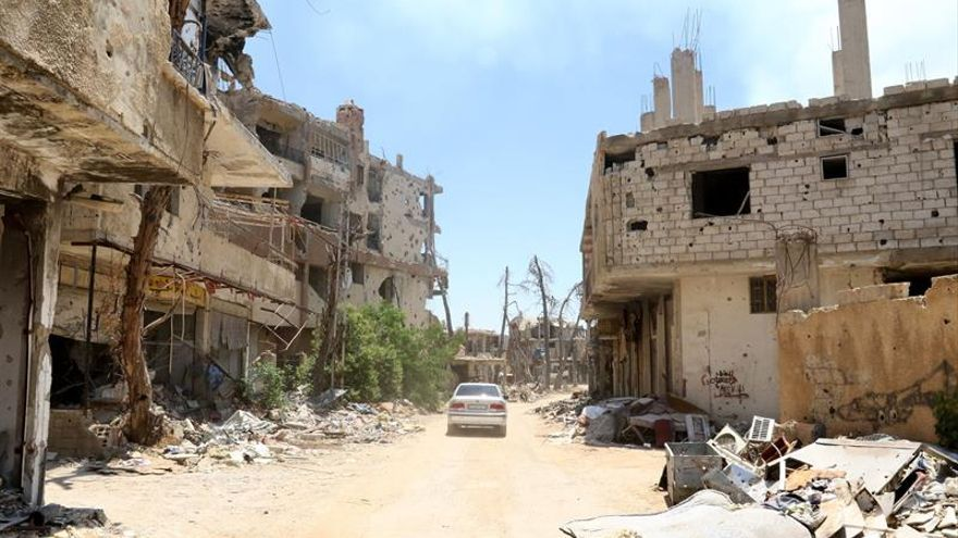 Un atentado suicida con un coche bomba causa varios muertos en Damasco