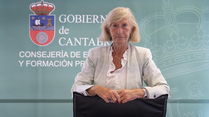 Marina Lombó, consejera de Educación.