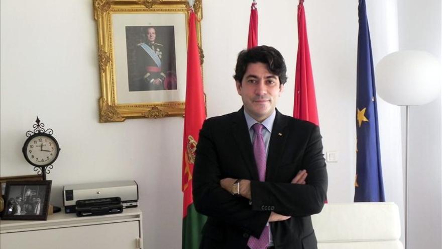 David Pérez, diputado del PP en la Asamblea de Madrid