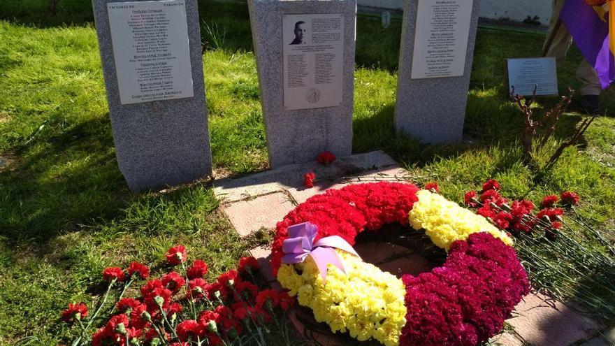 El cementerio de Tarancón acogió un multitudinario homenaje a las víctimas la represión franquista