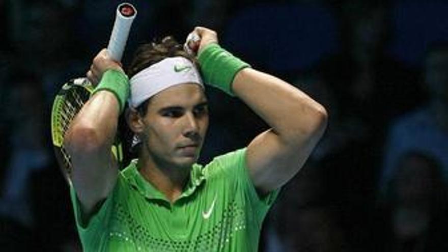 """Toni Nadal ve """"un poco tocado anímicamente"""" a Nadal después del Masters de Londres"""
