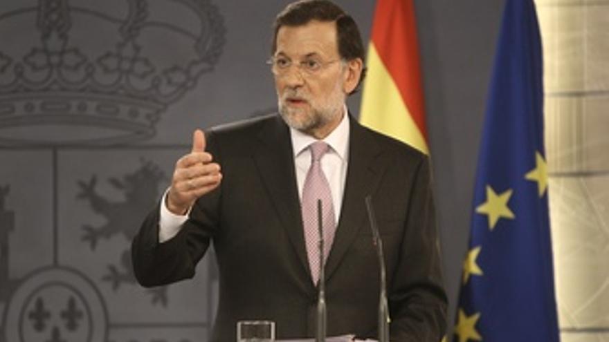 Mariano Rajoy comparece en La Moncloa