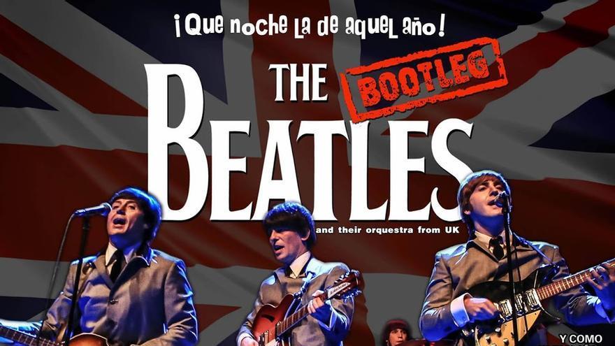 Cartel del concierto The Bootleg Beatles