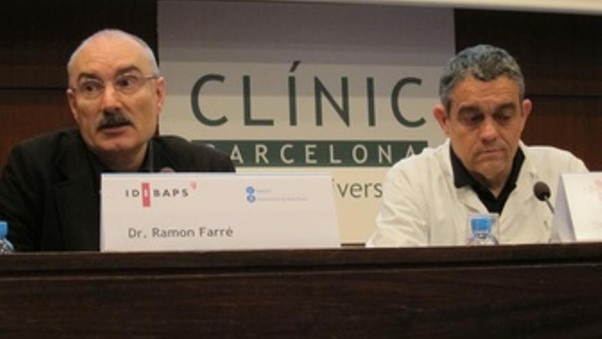 Los Investigadores Ramon Farré Y Josep Maria Montserrat