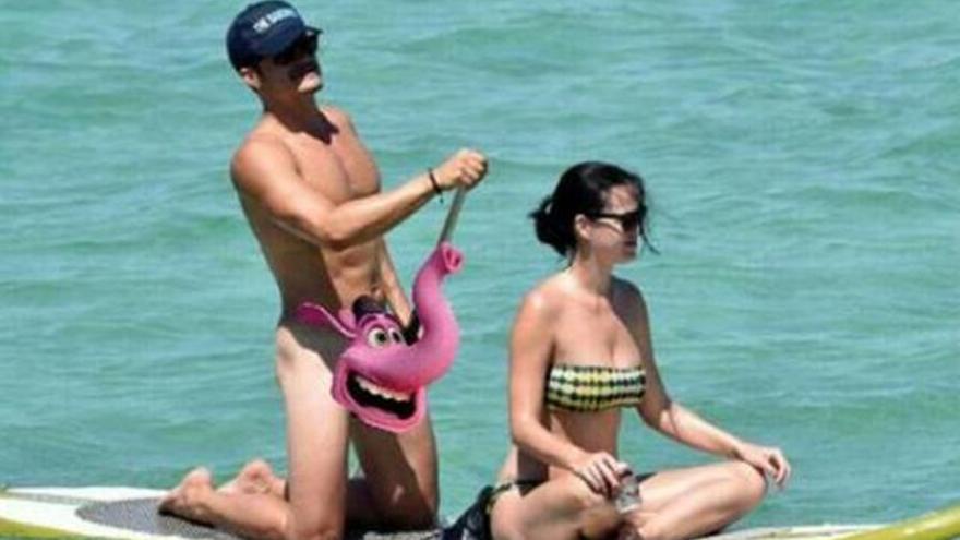 El desnudo de Orlando Bloom provoca un aluvión de memes