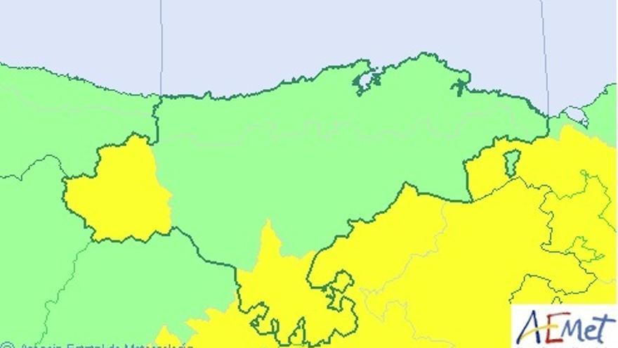 Cantabria del Ebro y Liébana, este miércoles en riesgo por altas temperaturas