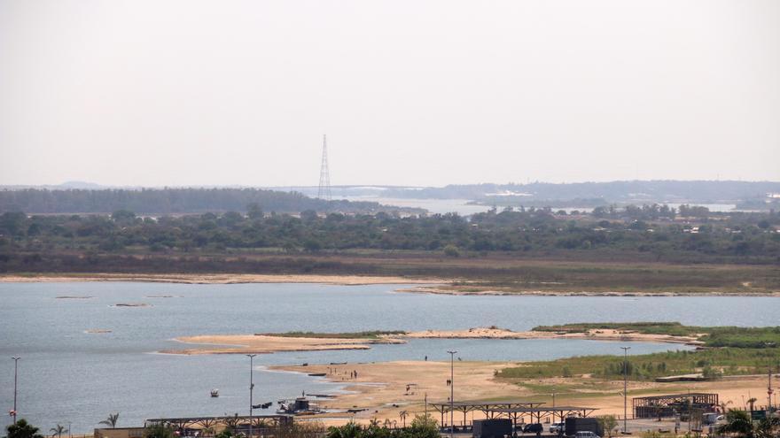 El río Paraguay marca un nuevo mínimo histórico a su paso por Asunción
