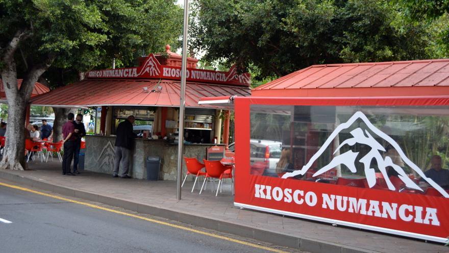 Kiosco Numancia, en Santa Cruz de Tenerife
