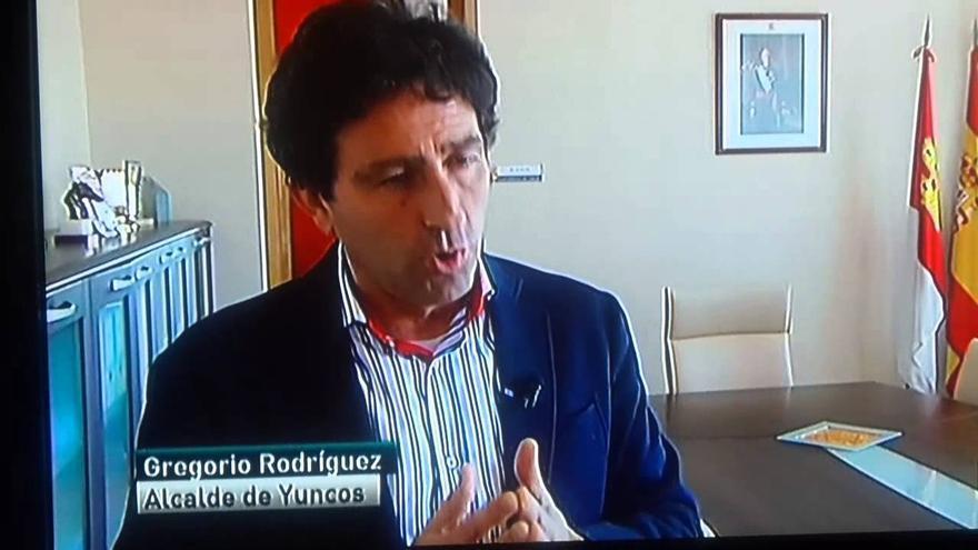 Gregorio Rodríguez, alcalde inhabilitado de Yuncos (Toledo), en declaraciones para La Sexta / Foto: PSOE Yuncos