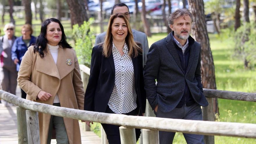 """Díaz espera que el Gobierno """"no la obligue"""" a llegar a tribunales para paralizar el subproyecto de Gas Natural en Doñana"""