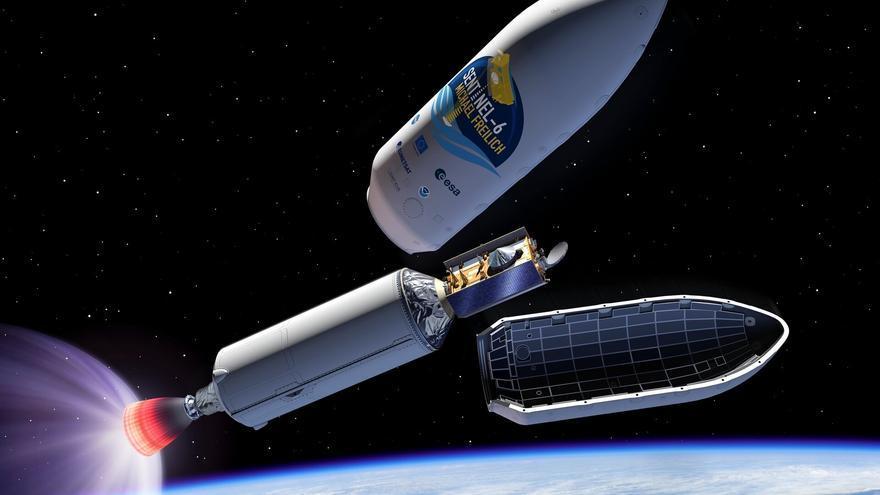 El programa Copérnico lanza mañana el Sentinel-6, el vigilante de los océanos