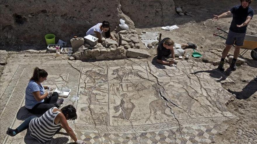 Un mosaico de 40 metros revela el esplendor económico de la Bética del siglo III