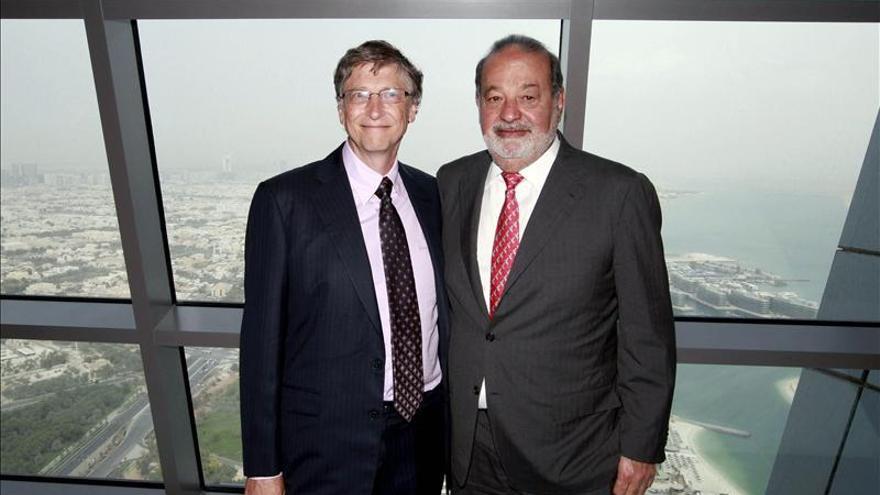 Bill Gates vuelve a ser el más rico del mundo por encima de Carlos Slim