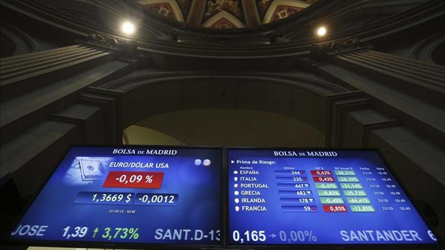 La prima de riesgo de España cae en la apertura a 246 puntos básicos