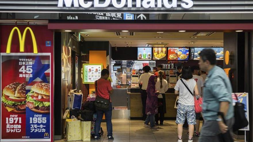 Los beneficios semestrales de McDonald's crecen un 18 por ciento