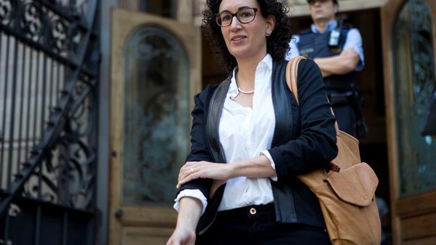"""Marta Rovira (ERC) avisa al Gobierno: """"Nosotros no pararemos máquinas"""""""