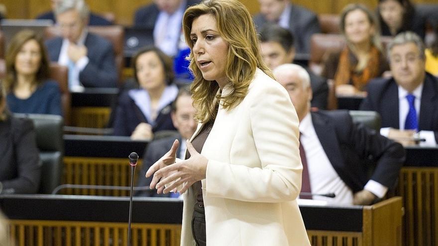 """Susana Díaz: La Junta recurrirá """"por todas las vías posibles"""" para impedir que siga adelante el Algarrobico"""