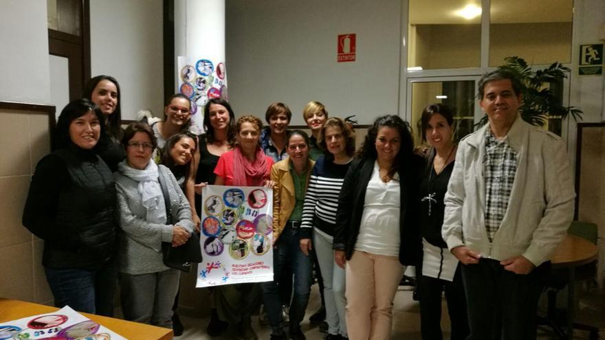 Participantes en el proyecto 'Nuestras Relaciones Sexpresan Compartiendo los Cuidados. Proyecto de Educación Afectivo Sexual y Prevención de Violencia de Género'.
