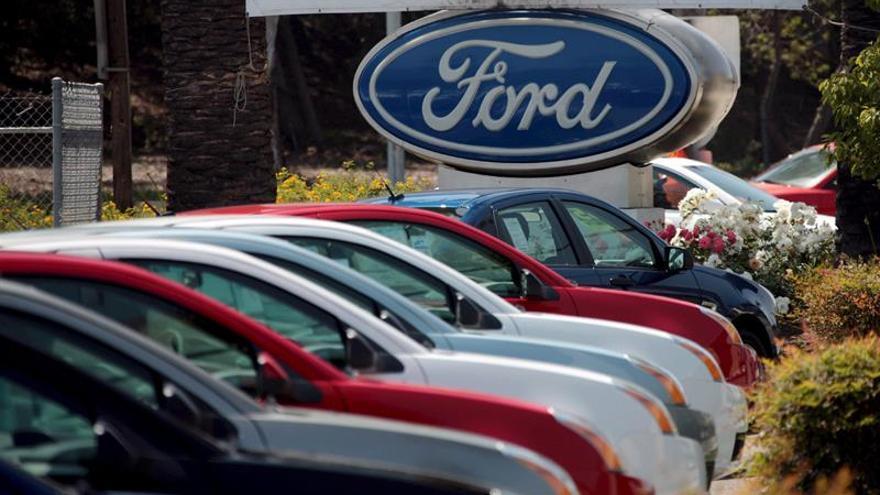 El beneficio neto de Ford aumenta un 33,5 % en el primer semestre del año